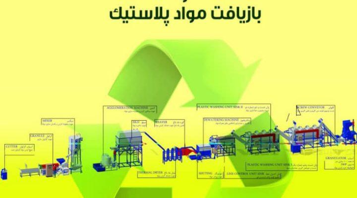ساخت خط بازیافت نایلون و مواد پلاستیک